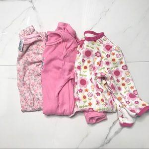 🎉Bundle baby girl sleep sack and sleeper